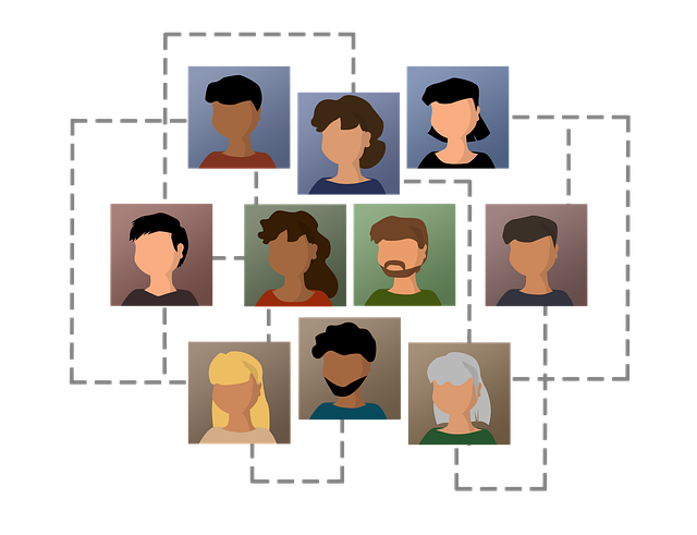 Human Resources Icons Network